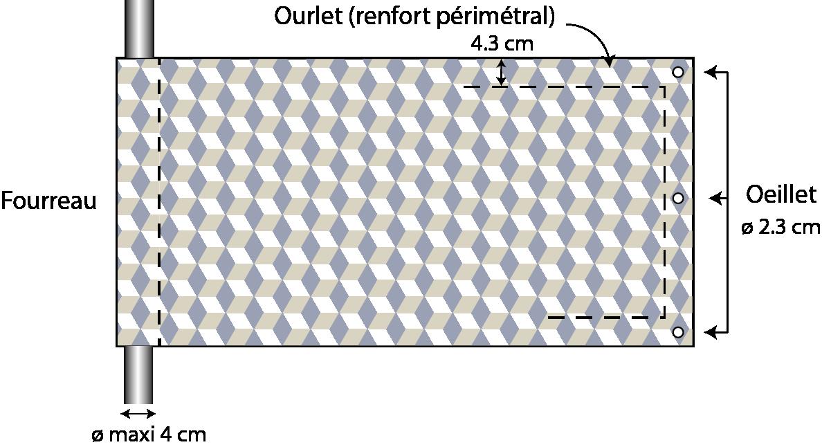 Banderole Mesh Microperfore